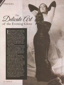 Evening Gloves Vintage Life 1